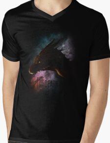 I am FIRE. I am DEATH. Mens V-Neck T-Shirt