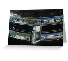 Chevrolet ll Greeting Card