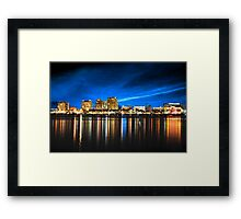 A Break from Independence Framed Print