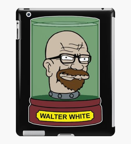 Walter White Futurama Jar Head Mashup iPad Case/Skin