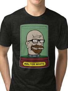 Walter White Futurama Jar Head Mashup Tri-blend T-Shirt