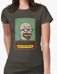 Walter White Futurama Jar Head Mashup Womens Fitted T-Shirt