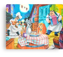 Disney Lady and The Tramp Tony's Canvas Print