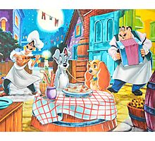 Disney Lady and The Tramp Tony's Photographic Print