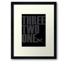 Space Jam Count Down Framed Print