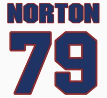 National football player Jim Norton jersey 79 by imsport