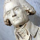 A Thomas Jefferson Bust by Cora Wandel