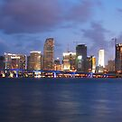 A Sizzlin Evening in Miami by Franklin Lindsey