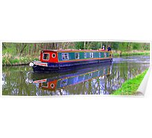 Canal Barge II Poster