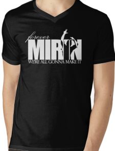 Forever Mirin (version 2 white) Mens V-Neck T-Shirt