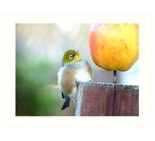 WOW! Is This The Big Apple! - Wax-Eye - NZ Art Print