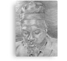 Monk (Up Close) Canvas Print