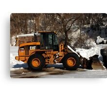 CAT Front Loader Canvas Print