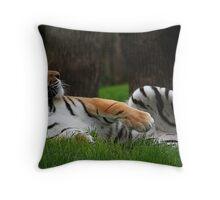 Easy Tiger Throw Pillow
