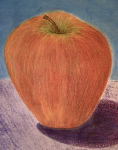 Portrait of a Good Apple by Rita Deegan
