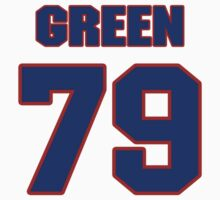 National football player Jacob Green jersey 79 by imsport