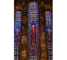 Stained Glass Windows, Our Lady of Hope Photographic Print