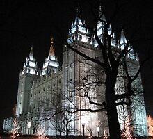 Salt Lake Temple by tetoncowgirl