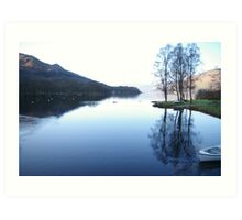 Reflections in the Highlands Art Print