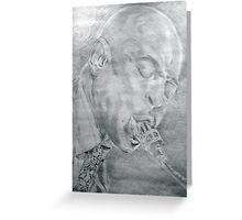 Soul Opened Eyes Closed - Archie Shepp Greeting Card