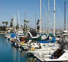 Harbor Sailboats by Dolphingal24