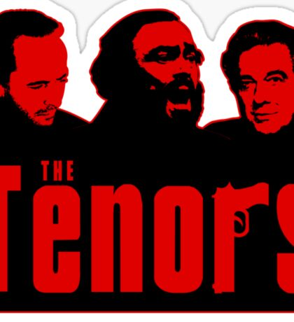 The Tenors Sticker