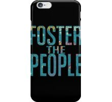 Foster the People- Supermodel Cutout iPhone Case/Skin