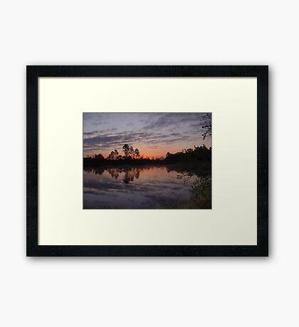 Morning on Bear Creek Framed Print