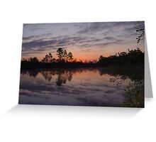 Morning on Bear Creek Greeting Card