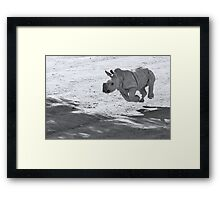I can fly! Oww... no I can't Framed Print