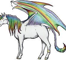Rainbow Tricorn by Anuviel