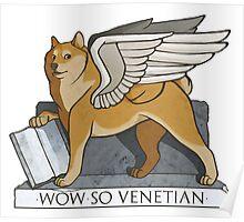 So Venetian Poster