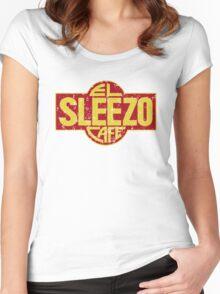 El Sleezo Cafe Women's Fitted Scoop T-Shirt