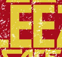 El Sleezo Cafe Sticker