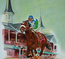 Race of A Lifetime   by Catherine Kuzma