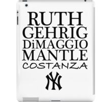 Costanza - Yankees iPad Case/Skin