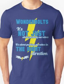 Being a Wonderbolt quote - Spitfire (MLP) T-Shirt