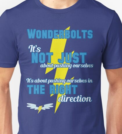 Being a Wonderbolt quote - Spitfire (MLP) Unisex T-Shirt