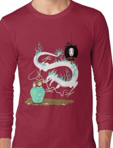 The white dragon Long Sleeve T-Shirt