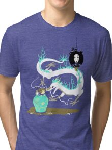 The white dragon Tri-blend T-Shirt