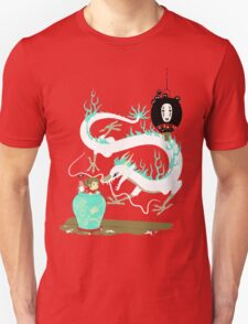The white dragon Unisex T-Shirt