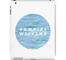 Water Vampire Weekend Logo iPad Case/Skin