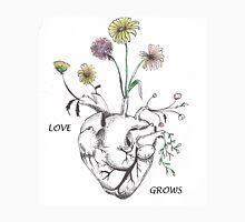 Love Grows (text) Unisex T-Shirt
