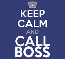 KEEP CALM and CALL BOSS Tank Top
