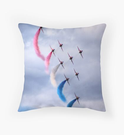 Red Arrows Throw Pillow