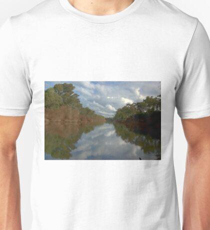 Tranquil river scene Unisex T-Shirt