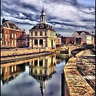 Kings Lynn Purfleet harbour HDR by Melody Shanahan-Kluth