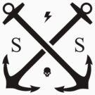 SS Anchor Logo by Stuart Stolzenberg