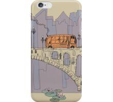 Bridge and City Bus iPhone Case/Skin