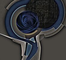 Blue Rose by Javier Albar